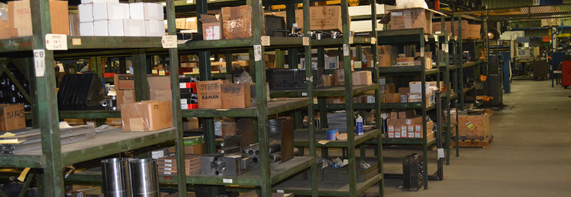 Formtek-Maine keeps over 10,000 parts in stock for next-day delivery where available